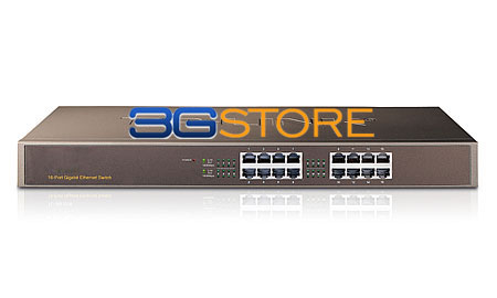 Ethernet Switch on 16 Port Gigabit Ethernet Switch 10 100 1000