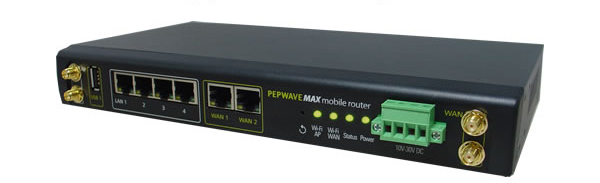 Pepwave Max 700 Load Balancing/Bonding Router (4 USB, 2 WAN, WiFi as WAN, AP)
