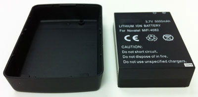 5000mAh Extended Battery & Cover for Sprint 3G/4G MiFi 4082 - Lasts up to 3x Longer than Standard Battery!