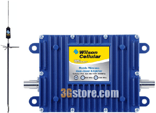 "Wilson 40dB In-Vehicle Repeater Kit w/ 32"" Omni Antenna [800/1900mhz]"