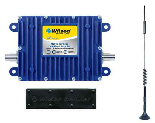 Wilson 40dB In-Vehicle Repeater Kit w/ Mag Mount Antenna - 801212 [800/1900mhz]