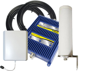Wilson 70db Adjustable Gain Tri-Band 4G-V Repeater Kit w/ OMNI Antenna for Verizon 3G/4G [700V/800/1900MHz]