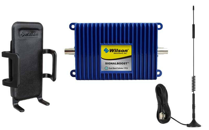 Wilson SignalBoost Cradle Amplifier Kit w/ Mag Mount Antenna - 811214 [800/1900mhz]