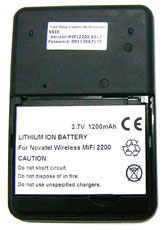 1200mAh Replacement Battery for Novatel MiFi 2200