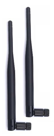 "PAIR of Taoglas 7.5"" Omni WiFi Antennas (2.4Ghz/5.0Ghz)"