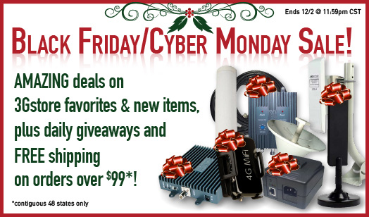 3Gstore 2013 Black Friday/Cyber Monday Sale