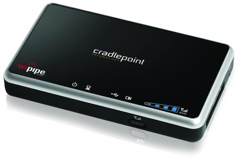 Cradlepoint CBR400 Business-Series Portable Router w/ WiFi as WAN Firmware 4.2.0