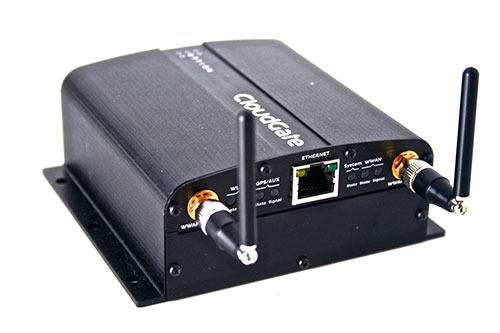 Option CloudGate M2M Cellular Gateway with Embedded Global 3G Modem