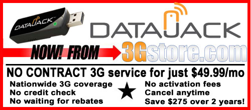 DataJack's $49.99/mo 3G Service from 3Gstore
