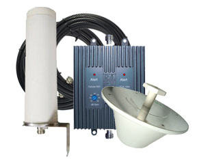 Cellphone-Mate 65db EFlex Repeater Kit, Omni Outside + Dome Inside - EFlex-65 [800/1900mhz]