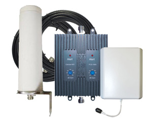 Cellphone-Mate 65db EFlex Repeater Kit, Omni Outside + Panel Inside - EFlex-65 [800/1900mhz]