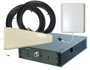 Cellphone-Mate Fusion-5 Five Band 70db Repeater Kit w/ YAGI Antenna [700/800/1900/2100mhz]