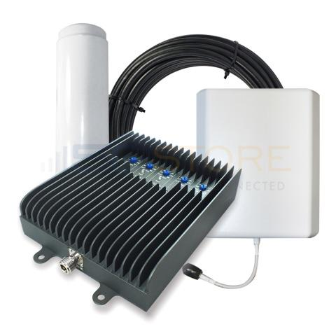 SureCall Fusion5s 72db Repeater Kit (1-6 Users) - Omni/Panel [700/800/1700/1900/2100mhz]