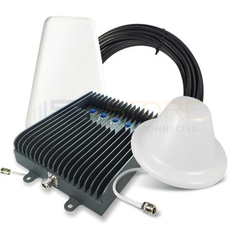 SureCall Fusion5s 72db Repeater Kit (1-6 Users) - Yagi/Dome [700/800/1700/1900/2100mhz]
