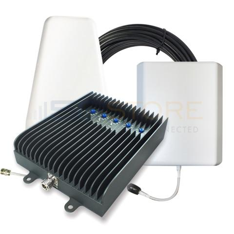SureCall Fusion5s 72db Repeater Kit (1-6 Users) - Yagi/Panel [700/800/1700/1900/2100mhz]