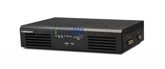 How do you use a CradlePoint router?