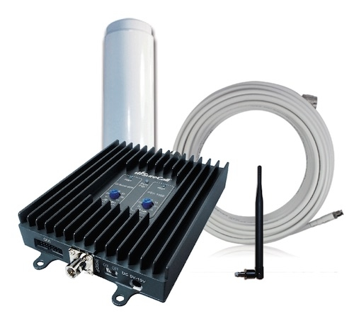 "SureCall Flex2Go 50db RV Repeater Kit w/ 9.5"" Omni Antenna [800/1900mhz]"