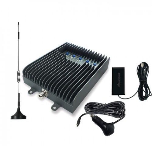 SureCall Fusion2Go 3G/4G 50db Vehicle Repeater Kit w/ Mag Mount Antenna [700/800/1700/1900/2100mhz]