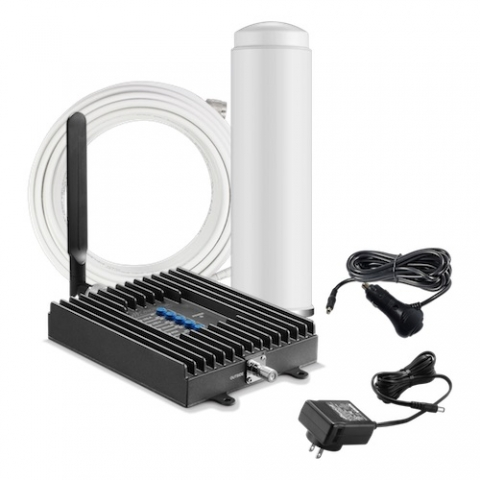 SureCall Fusion2Go 3G/4G 50db RV Repeater Kit w/ Omni Antenna [700/800/1700/1900/2100mhz]