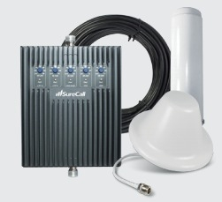 SureCall Fusion5s 72db Repeater Kit - Omni/Dome [700/800/1700/1900/2100mhz]