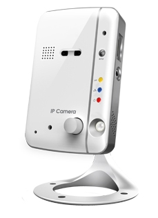 CloudCam HD Mega-Pixel Indoor Wireless Fixed Day and Night IP Camera w/ MicroSD Slot
