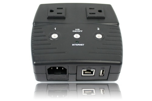 3Gstore Remote Power Switch - 2 Outlets - Remote Automation and Remote Rebooting (Routers, WebCams, Servers, etc)