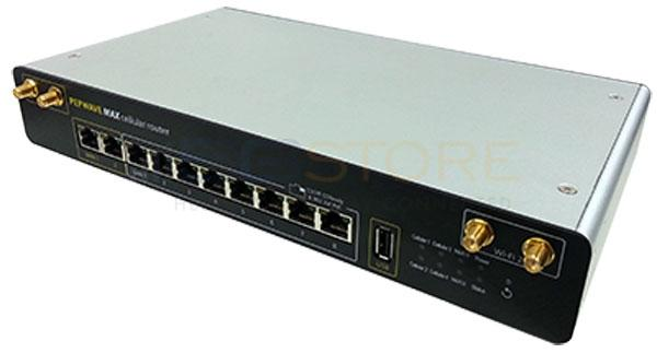 Pepwave MAX HD4 Load Balancing/Bonding Router w/ 2 x US 3G/4G and 2 x European 4G LTE Modems Hardware Revision 2