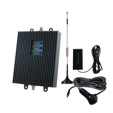 SureCall TriFlex2Go-A 50db Vehicle Repeater Kit w/ Mag Mount Antenna for AT&T 3G/4G [700A/800/1900MHz]