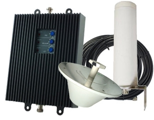 SureCall TriFlex-A 72db Repeater Kit for AT&T 3G/4G - Omni/Dome [700A/800/1900mhz]