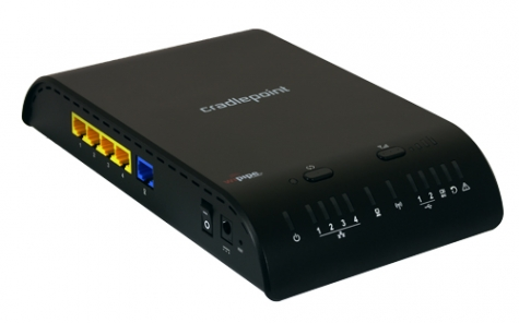 CradlePoint MBR1200B 3G/4G Mobile Broadband Router w/ WiFi as WAN Firmware 3.6.3