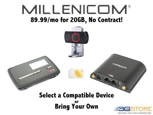 millenicom novatel mifi 4620LE