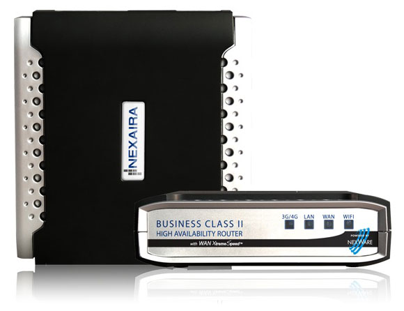Nexaira Business Class 2 (BC2) 3G/4G Router