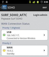 pepwave router utility