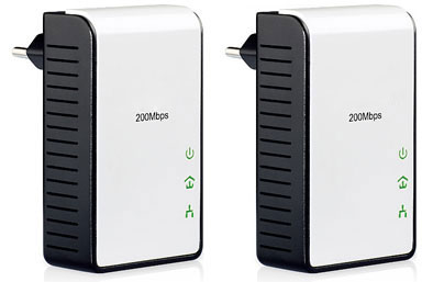 200Mbps Powerline Adapters