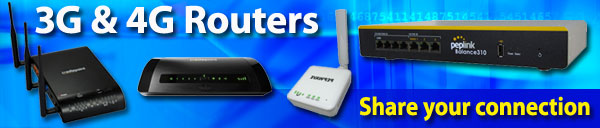 3G and 4G routers