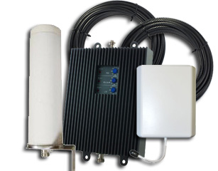Cellphone-Mate 65db Tri-Flex 4G-T Repeater Kit for T-Mobile/Canada 3G/4G w/ OMNI Antenna [800/1900/1700/2100MHz]